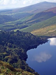 **Wicklow Mountains National Park - Glendalough Village, Ireland