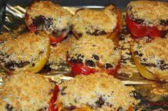 Paprika's gevuld met adukibonen - http://www.volrecepten.nl/r/paprika-s-gevuld-met-adukibonen-3401125.html