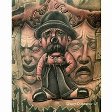 Image result for Chicano Cholo Art Blue