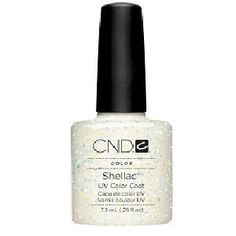 CND Shellac Zillionare Gel Polish... SPARKLE!!!!