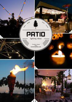 Low Effort Decor: Easy to Do Outdoor Patio Lighting Ideas