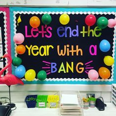 Let's end the year with a BANG! bulletin board!