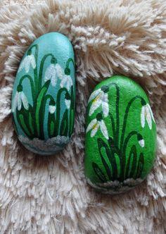 Malované kameny JARO JE TU - Ručně - obrázek číslo 3
