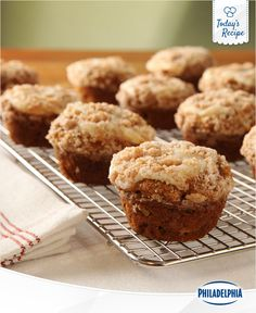 Start a school day off right with our Pumpkin Apple Streusel Muffins. Pumpkins and apples are brain food, right?