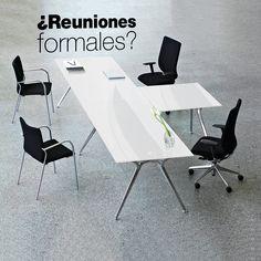 Nuestra línea de mesas #Arkitek  le brindaran un toque elegante y sofisticado a tu oficina. Ideal para reuniones formales que ameriten un mobiliario acorde con tu profesionalismo. Formal, Conference Room, Dining Chairs, Table, Furniture, Home Decor, Reunions, Offices, Mesas