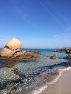 Plage d'Argent, Porticcio, Corse, France