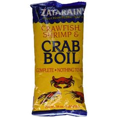 Zatarain's Crawfish, Shrimp & Crab Boil