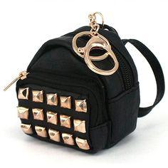 Mini Backpack Coin Purse Keychain