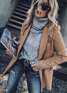 Looks Street Style, Street Style Trends, Street Styles, Look Fashion, Womens Fashion, Fashion Fall, Fashion Boots, Fashion Scarves, Cheap Fashion