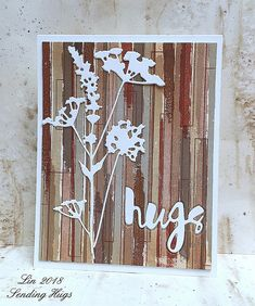 Simon Says Stamp Wednesday challenge, Sept 5 - STAMPtember Chocolate Card, Sending Hugs, Cup Art, Glitter Cards, To Color, Simon Says Stamp, Card Maker, Hero Arts, Watercolor Cards