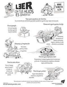Leer con tus hijos es divertido!