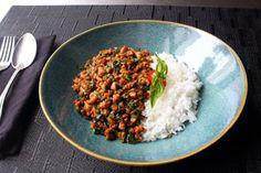 Food Wishes Video Recipes: Spicy Thai Basil Chicken – My Pad Krapow Gai Entree Recipes, Thai Recipes, Asian Recipes, Chicken Recipes, Easy Recipes, Keto Recipes, Chef John Recipes, Cooking Recipes, Cooking Ideas