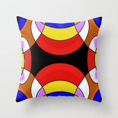 "Throw Pillow  / Indoor Cover (16"" x 16"")    Christa Bethune Smith, Cabsink09 (cabsink09)  Pattern79 by Christa Bethune Smith, Cabsink09  	 . $20.00"