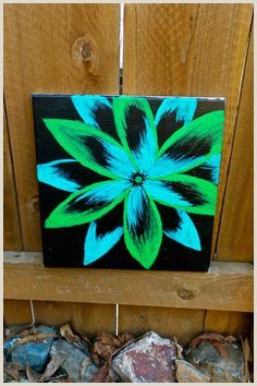 Easy Things To Paint With A Black Background Simple Canvas Paintings Canvas Painting Projects Black Canvas Paintings