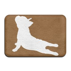 Indoor/Outdoor Doormat With French Bulldog Yoga Graphic Pattern For Pet Cat Dog Feeding Mat >>> To view further for this item, visit the image link. (This is an affiliate link) Outdoor Gardens, Indoor Outdoor, Cat Feeding, Graphic Patterns, Doormat, French Bulldog, Image Link, Yoga, Pets