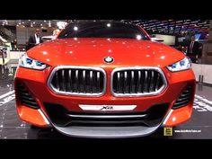 BMW X2 Concept - Walkaround - Debut at 2016 Paris Motor Show - YouTube