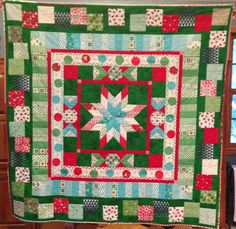 Round Robin quilt made with some wonderful friends - Joyce Morganelli ...