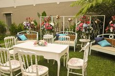 akad Akad Nikah, Outdoor Furniture Sets, Outdoor Decor, Minimalist Wedding, Wedding Decorations, Decor Wedding, Wedding Inspiration, Wedding Ideas, Newlyweds