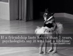 friendship lasts longer than 7 years, psychologists say it will last ...