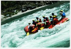 Rishikesh Rafting and Camping, If you are adventure lover than it's the best option for you. You love this- first time adventure experience in #Rishikesh.