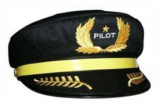 Child's Pilot Hat by Daron Worldwide Trading inc.. $9.63. From the Manufacturer                Pilot Hat helps your child imagine being the pilot of their own plane.                                    Product Description                This beautiful Pilot Hat Model is one of the best replica available in the market today. This is, however available for a LIMITED TIME OFFER with an elegant base and nameplate...  Generic Pilot Hat helps your child imagine being...