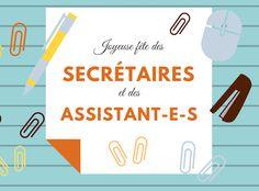 Joyeuse fête des secrétaires et assistant-e-s