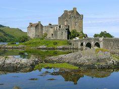 http://remains.se  Eilean Donan Castle