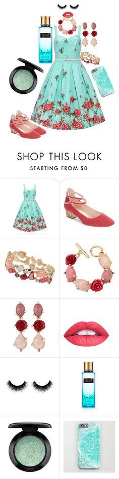Rose by sabri-lujan on Polyvore featuring moda, Kate Spade, Oscar de la Renta, Dorothy Perkins and MAC Cosmetics