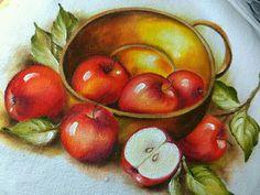 Creative Cards, Fabric Painting, Van Gogh, Illustration Art, Pastel, Fruit, Drawings, Crafts, Paintings
