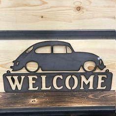 Metal Wall Art Decor, Metal Art, Wood Art, Man Cave Metal, Corrugated Metal, Rusty Metal, Welcome Wood Sign, Kombi Home, Steel Paint