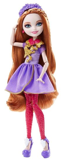 The Ever After High Powerful Princess dolls offer two looks in one for double the spellbinding fun - Core Ever After High characters Apple White, Madeline Hatter and Holly O'Hair transform their looks...