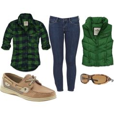 Note to self: look for awesome green plaid for fall...