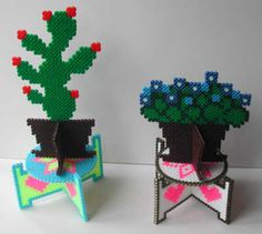 House plants perler bead by Emos Pärlkonst