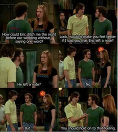 That 70's show Kelso!