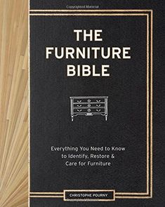 http://ift.tt/1RyMHmq Christophe Pournys Furniture Bible @#$