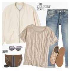 """""""Untitled #882"""" by tawnee-tnt ❤ liked on Polyvore featuring Monki, AMO, J.Crew, Nly Shoes and Tory Burch"""