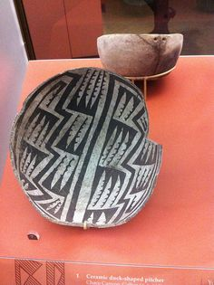 The pre-columbian black on white Pueblo pot collection at The Field Museum is incredible!, via Flickr.