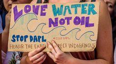 Sioux-Indianer protestieren: Regierung stoppt Pipeline-Bau