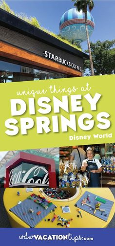 FANTASTIC ideas for what to do on your day at Disney Springs Walt Disney World. - Travel Orlando - Ideas of Travel Orlando Walt Disney World, Disney World Vacation, Disney Cruise Line, Disney World Resorts, Disney Vacations, Disney Parks, Disney Travel, Disney Bound, Family Vacations