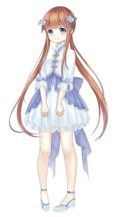 Manga Kawaii, Kawaii Chibi, Kawaii Anime Girl, Anime Art Girl, Female Character Design, Cute Anime Character, Lolis Neko, Lolis Anime, Disney Princess Art