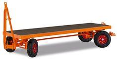 GTARDO.DE:  Industrie-Anhänger 4-Achs-Drehschemellenkung, Tragkraft 2000 kg, Ladefläche 2000 x 1000 mm, Vollgummi 2 194,00 €