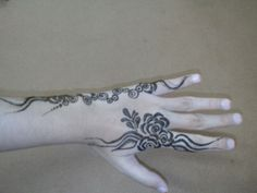 Made by me on my hand on occasion of eid