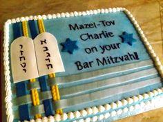 Bar Mitzvah Sheet Cake