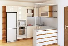 Cucine con isola, idea abbinamento tonalità colore bianco e blu ...