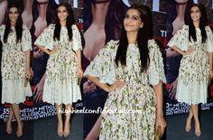Sonam Kapoor In Dolce & Gabbana At Vogue India's Fashion's Night Out