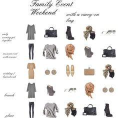 """A Weekend Away..."" by lakenokomis on Polyvore"