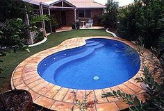 Choose the Perfect Swimming Pool For You, Your Family & Your Backyard Inground Pool Designs, Small Inground Pool, Small Swimming Pools, Swimming Pools Backyard, Small Backyard Landscaping, Swimming Pool Designs, Backyard Ideas, Pool Ideas, Landscaping Ideas