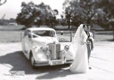 Jaguar MkV wedding car