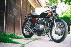 single-image Honda Cb, Cb 500, Custom Garages, Single Image, Graz, Antique Cars