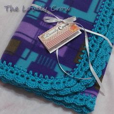 Ravelry: TheLovelyCrow's Purple and Teal Newborn Set
